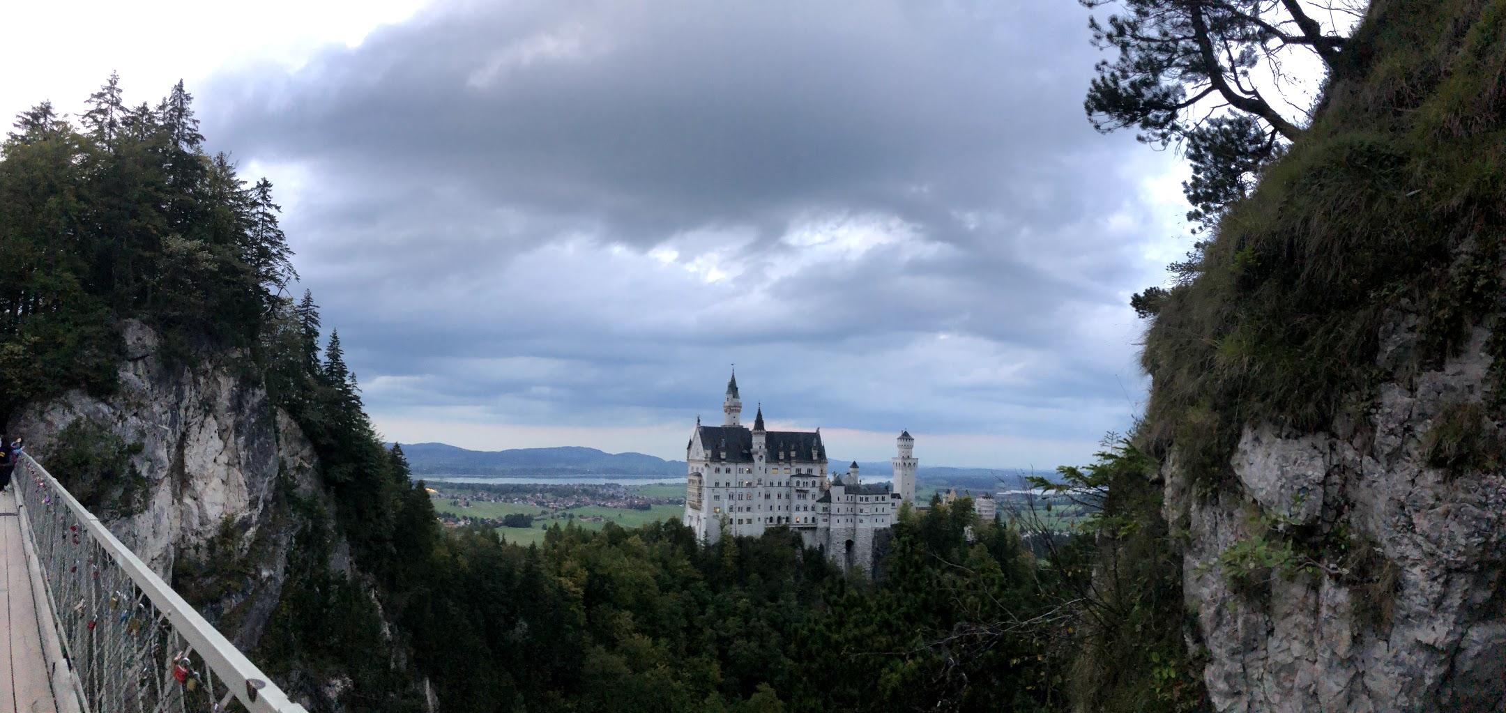Neuschwanstein Castle View from Bridge