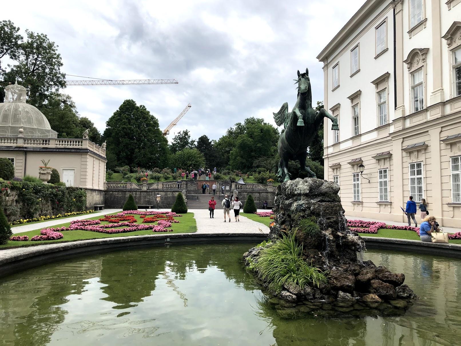 Salzburg Gardens in Sound of Music