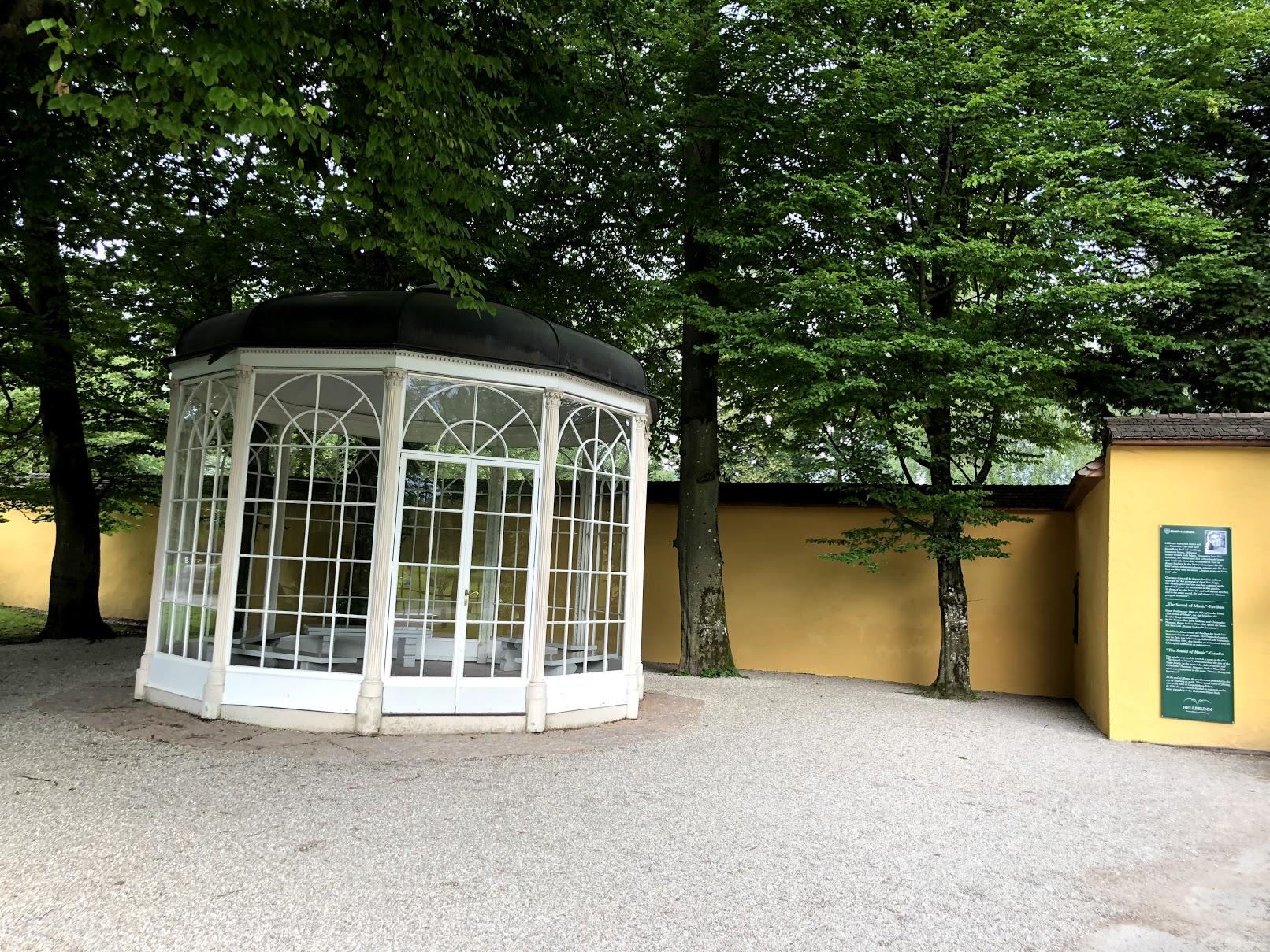 Gazebo from the Sound of Music in Salzburg
