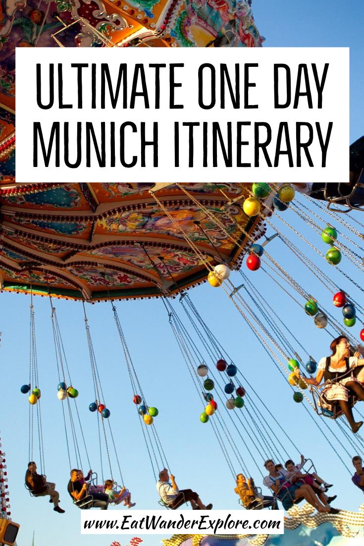 One Day Munich Itinerary | Munich Day Trip | Travel Munich | Travel Germany | Munich in a day