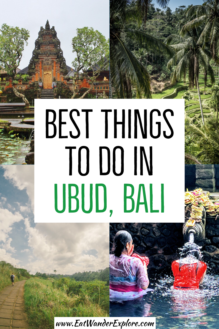 Best Things to Do in Ubud, Bali, Indonesia