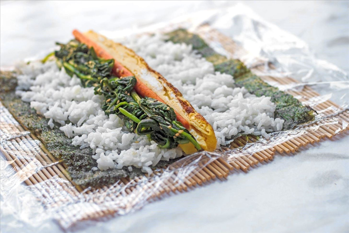 Makisu Sushi Mat Japanese Holiday Meal Oomomo.png