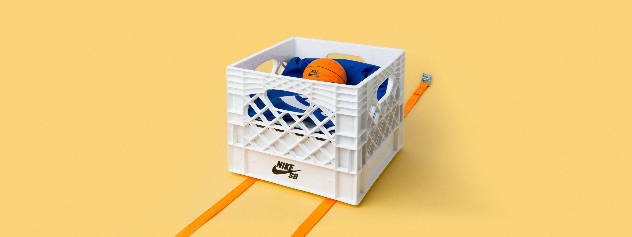 custom fabrication, milk crate, shoe box, CNC cutting, Nike SB seeding kit, portland, OR, basketball hoop, indoor, collapsible