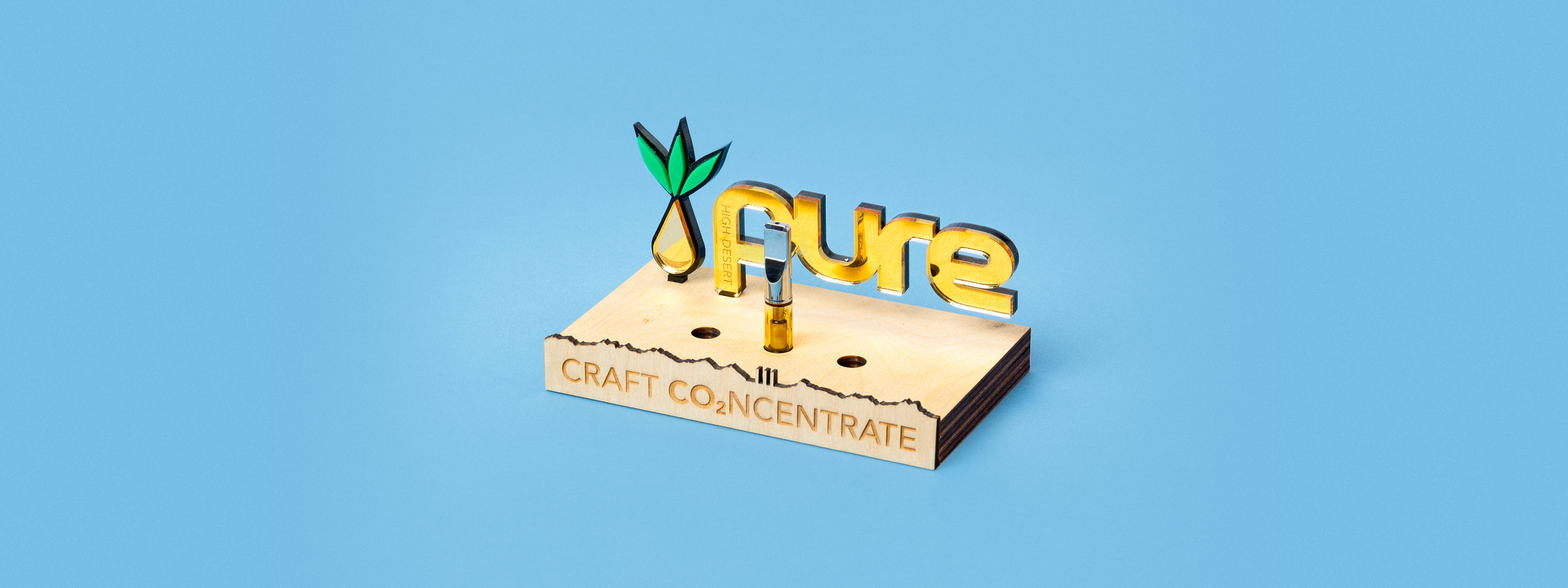 in-store display, POP, concentrate display, laser cut acrylic, laser cut wood, POS display