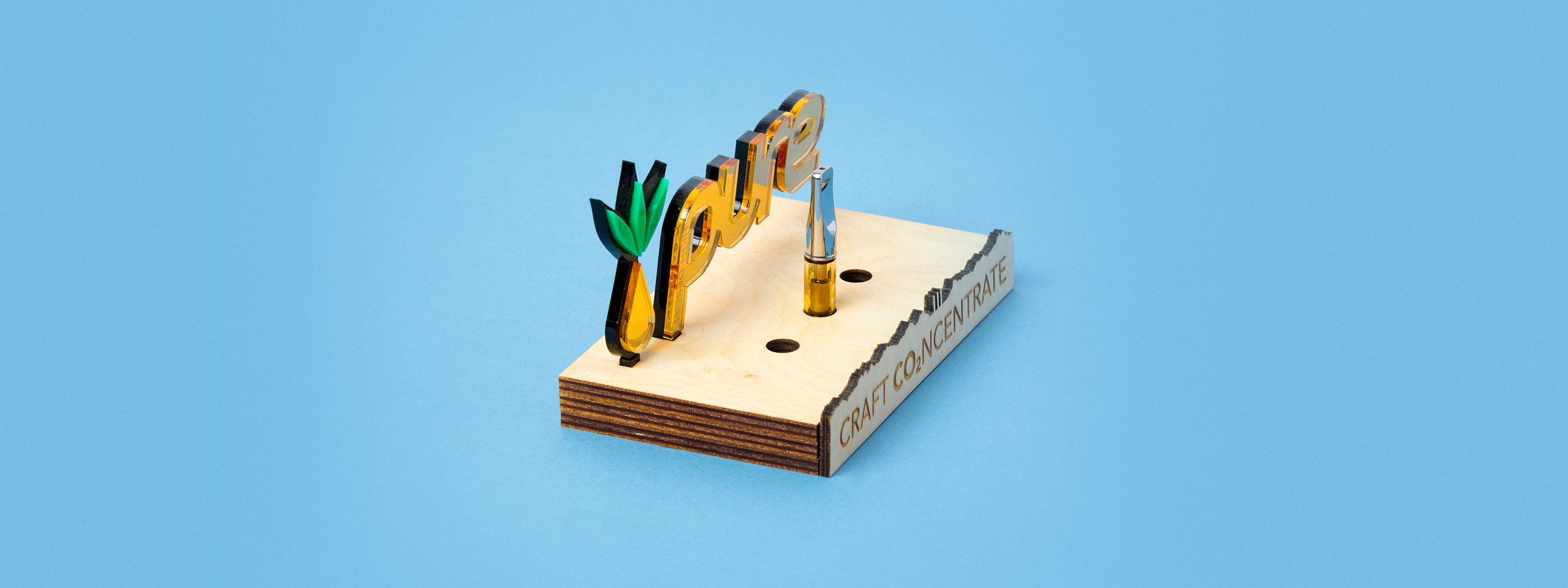 in-store display, POP discplay, concentrate display, laser cut acrylic, laser cut wood, POS display