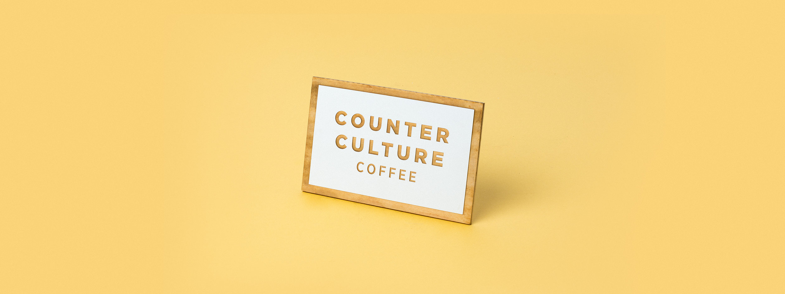 baltic birch, coffee sign, painted, laser engraved, laser cut, POP display, POS display, counter culture coffee