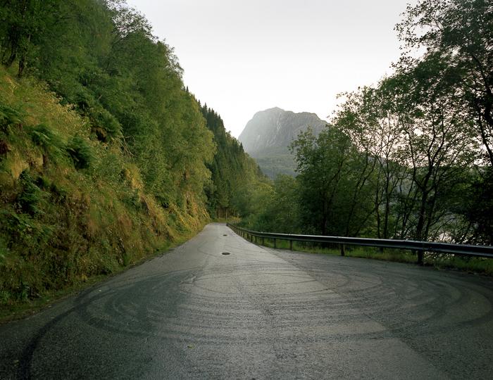 Photo: Wheel Traces, Dale Series, © Juliane Eirich 2014, Dale, Norway
