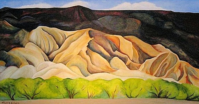 """After Georgia's landscape"""
