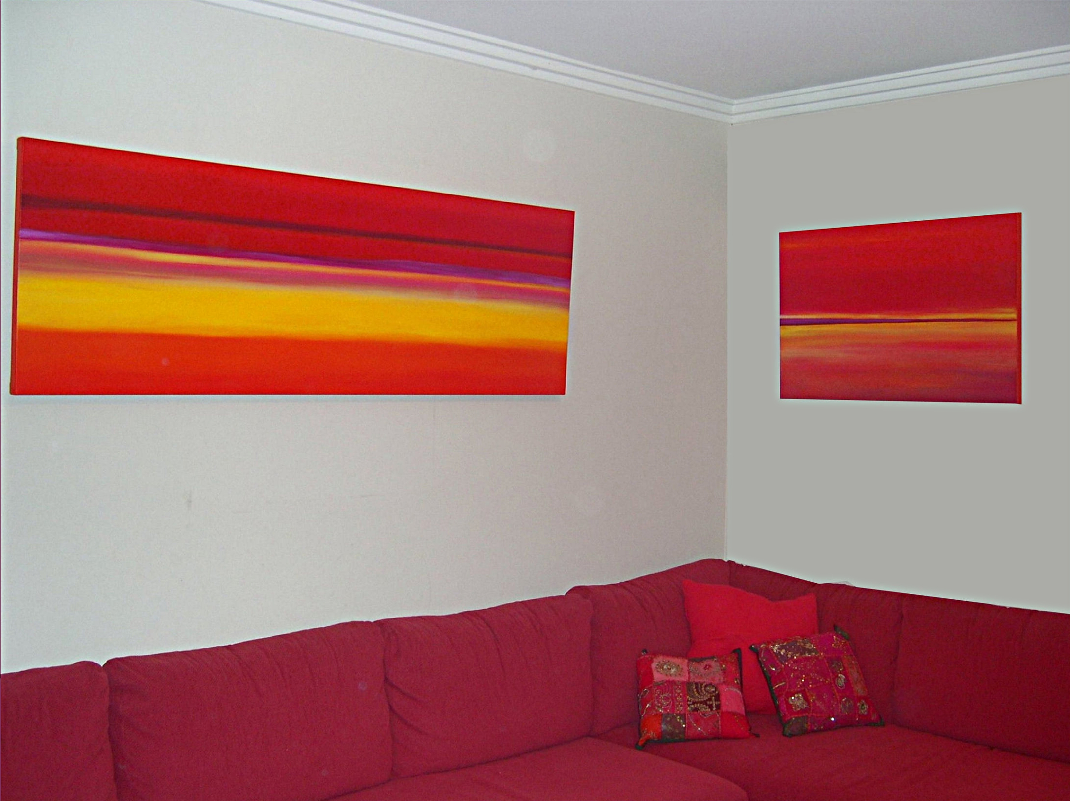 """""""Abstract in Reds"""""""