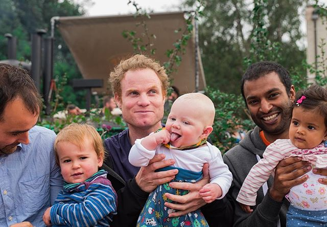 #6. 'J' (40) & Arlan (17mths), Nick (37) & Arthur (6mths) and Jason (30) & Elise (8mths) - Three Dads together, how could I resist talking to these dudes? They clearly all became fathers at different times and although no one claims to be a pro, they seemed to have things pretty well sewn up. When I asked about the biggest challenges of having kids they really didn't have any gripes. The one thing that came up is having silly arguments or disagreements with your partner. I figure if that's the worst of it then they must be doing something right! I did manage to extract a couple of their favourite things though. 'J' and Nick are big fans of stories and snuggles with their boys while Jason loves nothing more than making his little girl laugh. Great to meet 3 cool Dads in one hit. Thanks chaps for being so welcoming to a stranger interrupting your lunch brandishing a camera 👍📸 #bdp #bristoldadproject #dontforgetdads #cooldads