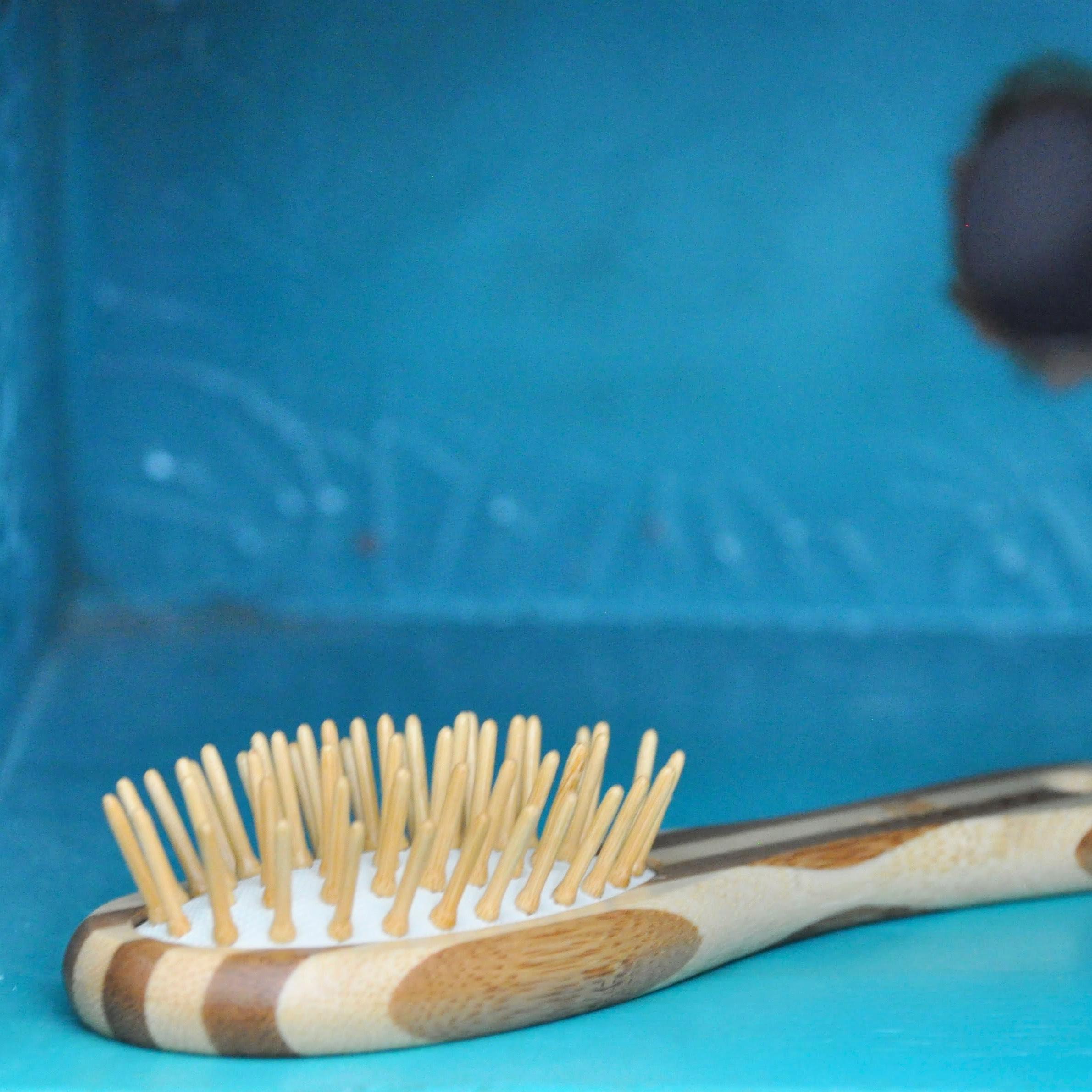 MiEco Bamboo Hairbrush