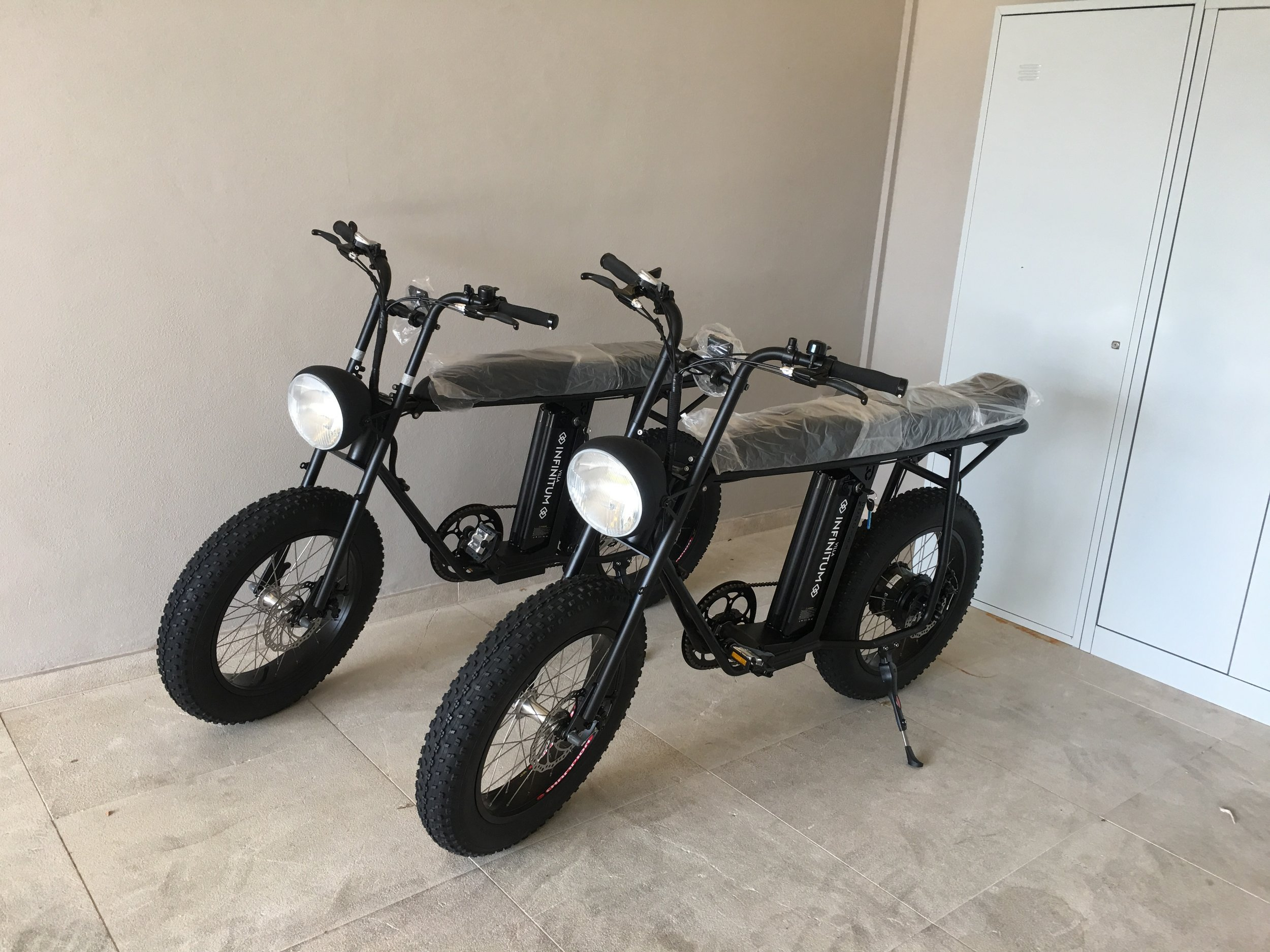 - Unimoke Package. Undoubtedly the best way to travel around, our Infinitum Unimoke bikes are great and fun for all the family and eco friendly.