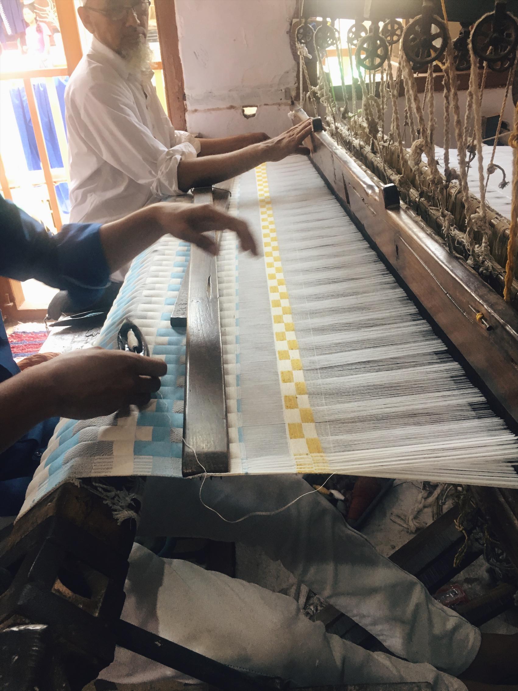 Sujni craft in the making
