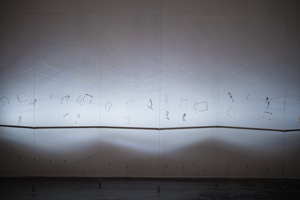 Shared Vision Wall Installation by Chris Wood Photo© Luca Rossini