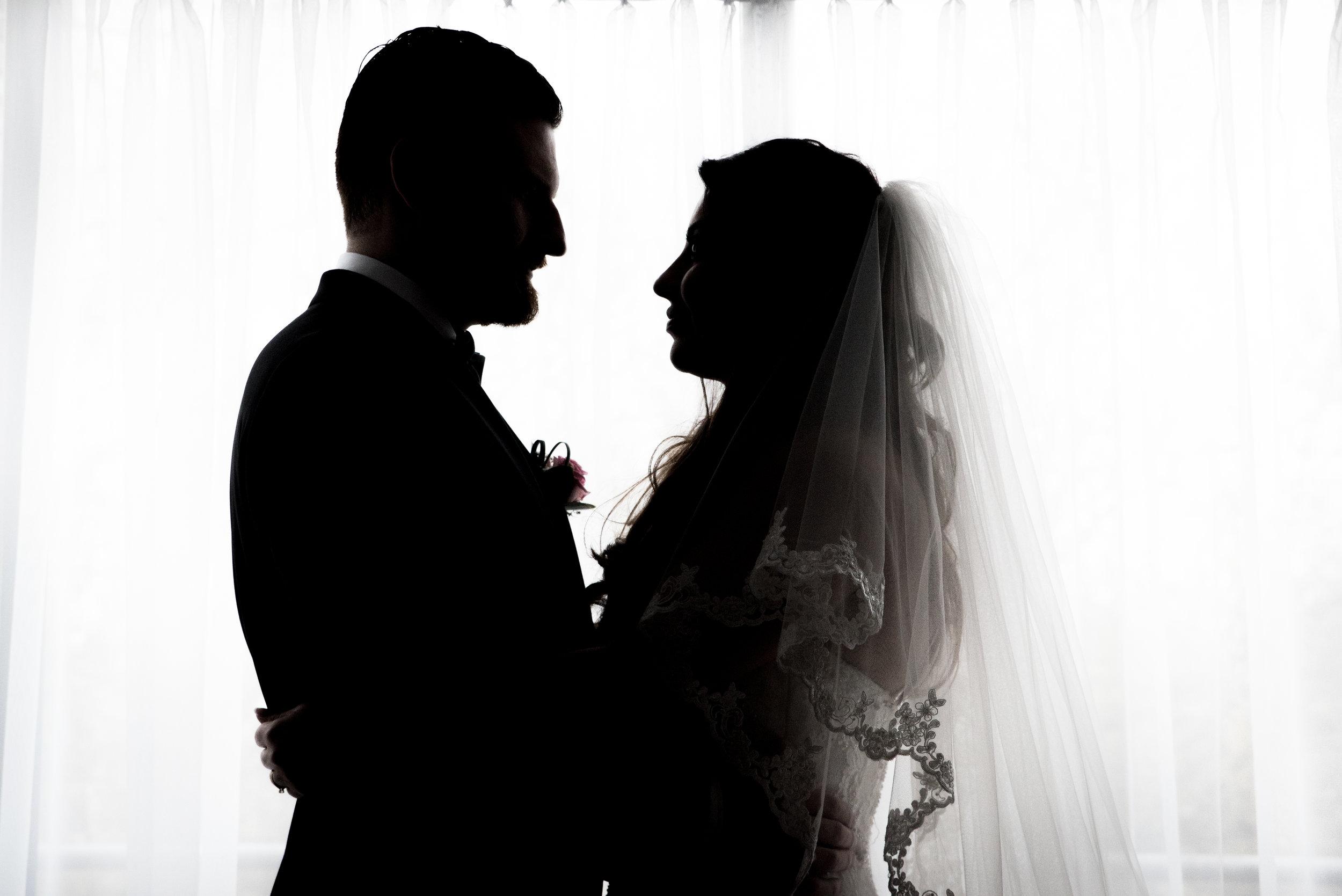 Bruid en bruidengom