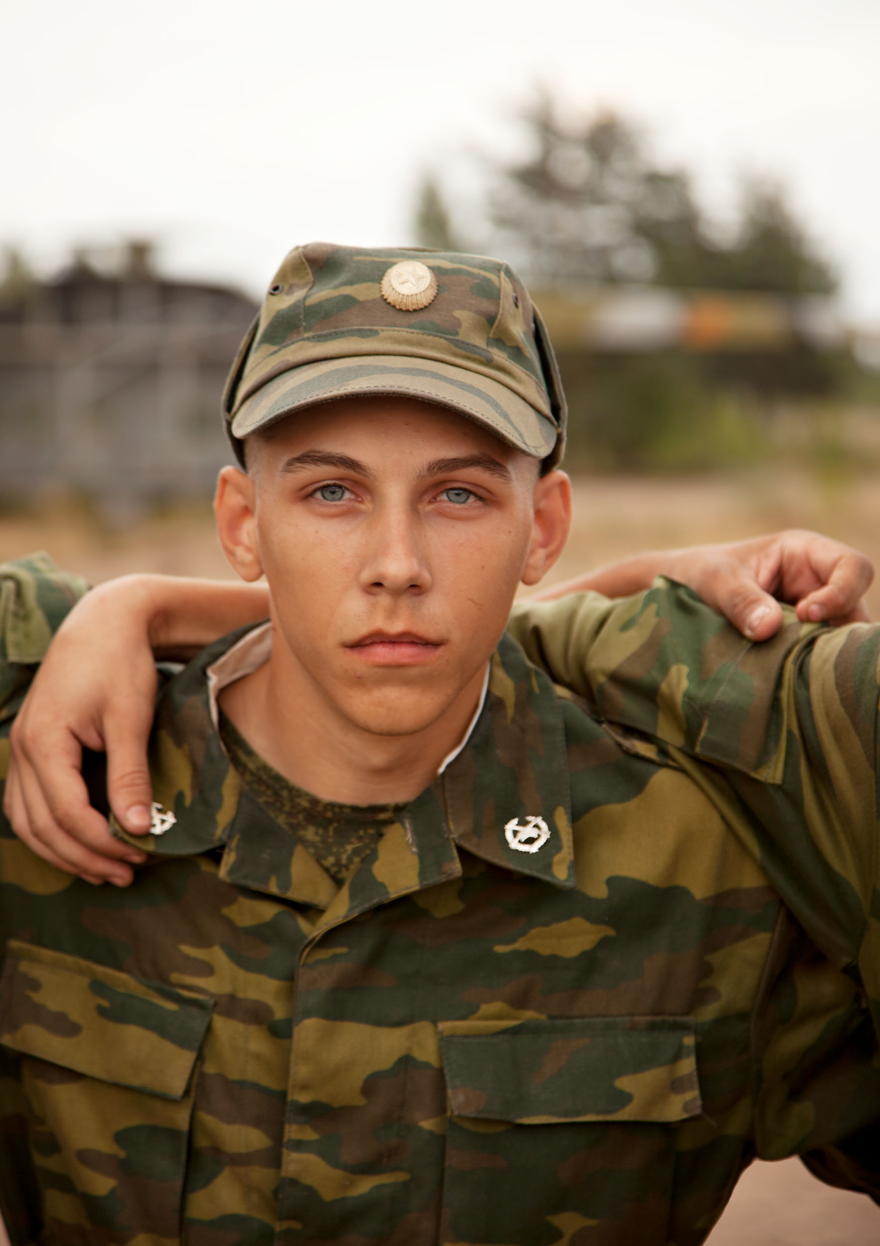Young Soldier 2  2011, archival pigment print 134 x 95 cm / 53 x 37.5 in. Edition of 5