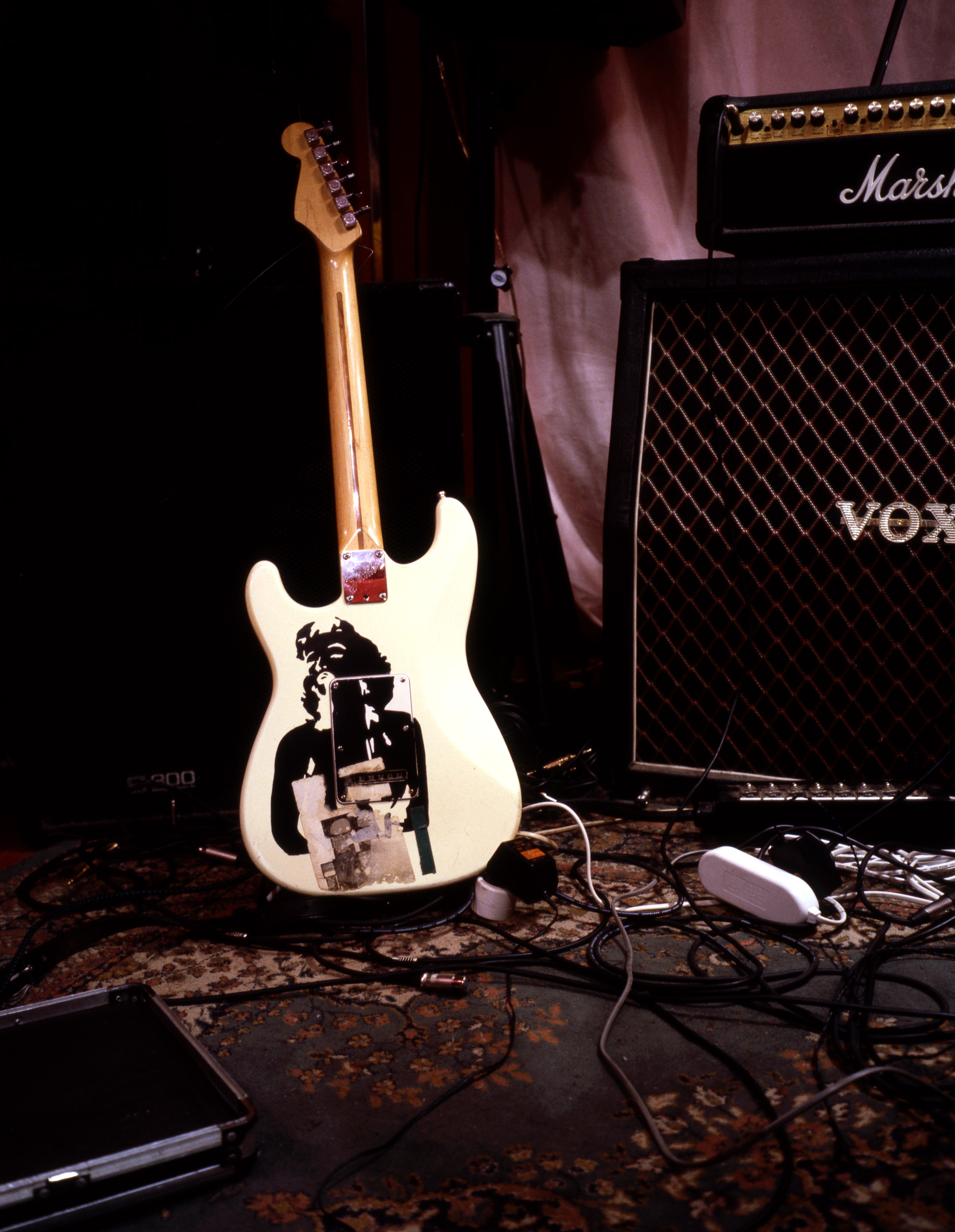 Untitled Production Still (Guitar Vox)  2005, colour photograph 76 x 58 cm / 30 x 23 in.