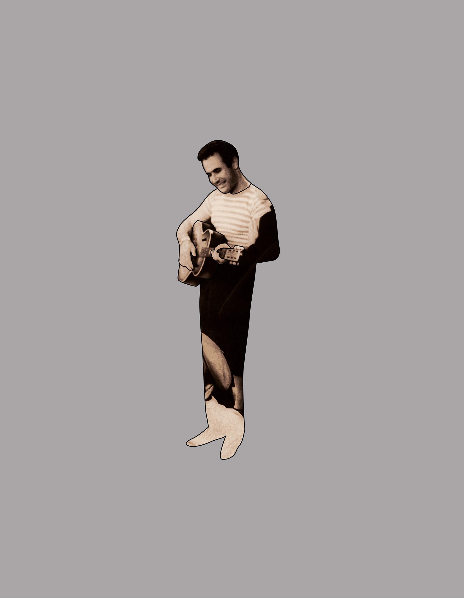 Guitar Guy  2005, colour photograph,76 x 58 cm / 30 x 23 in.