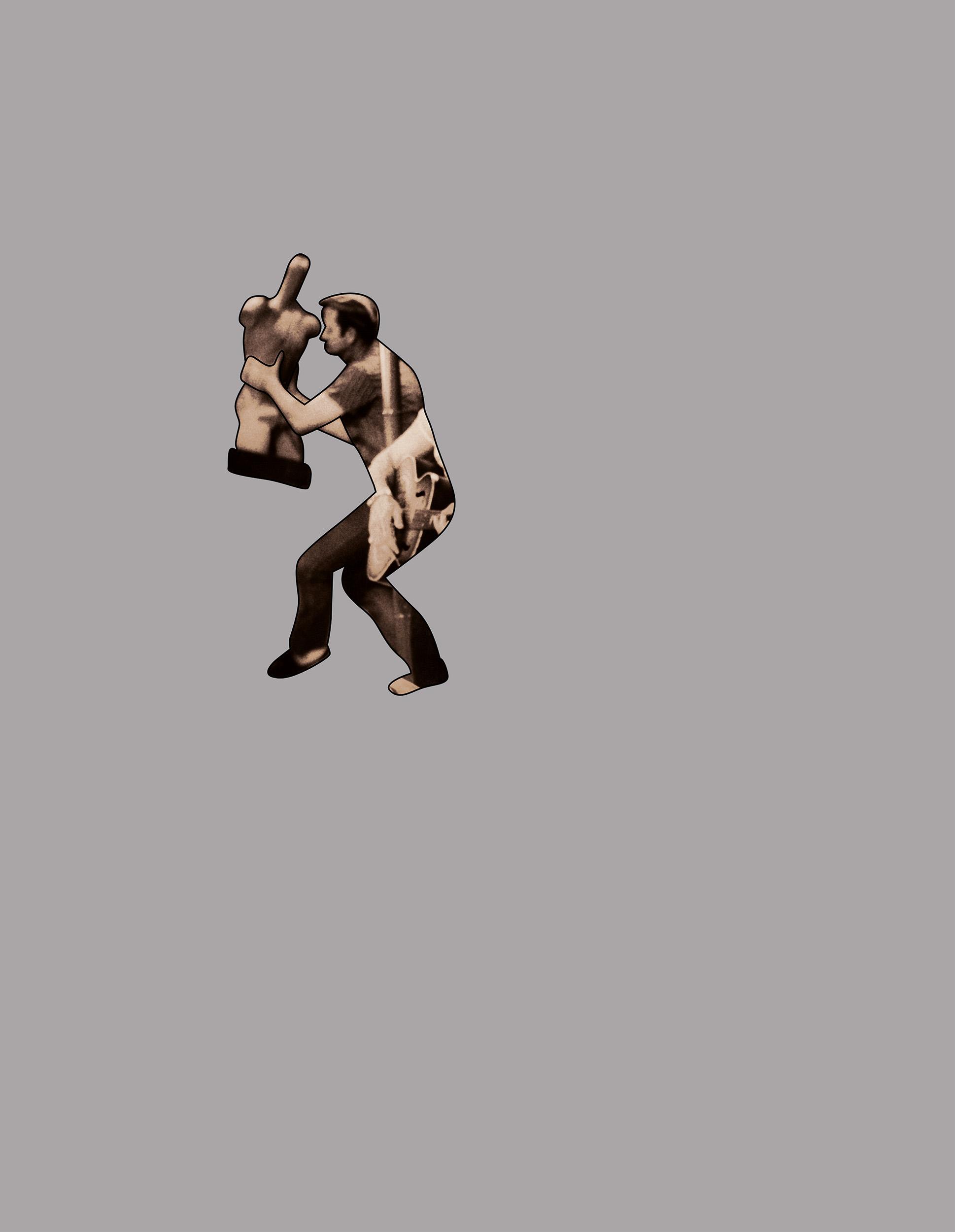 Mannequin Dancer  2005, colour photograph,76 x 58 cm / 30 x 23 in.