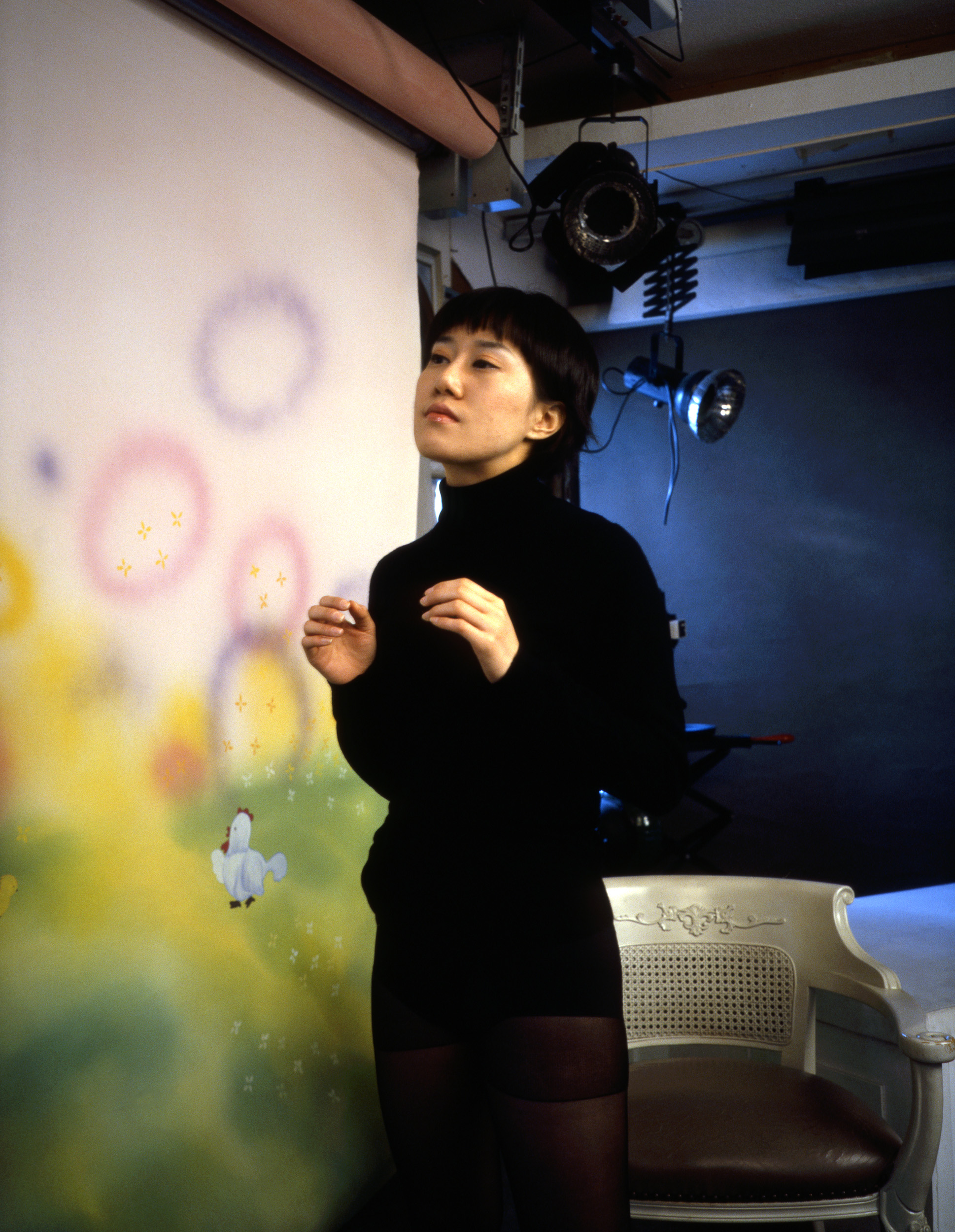 Untitled Production Still (Girlfriend's Torso)  2005, colour photograph,76 x 58 cm / 30 x 23 in.