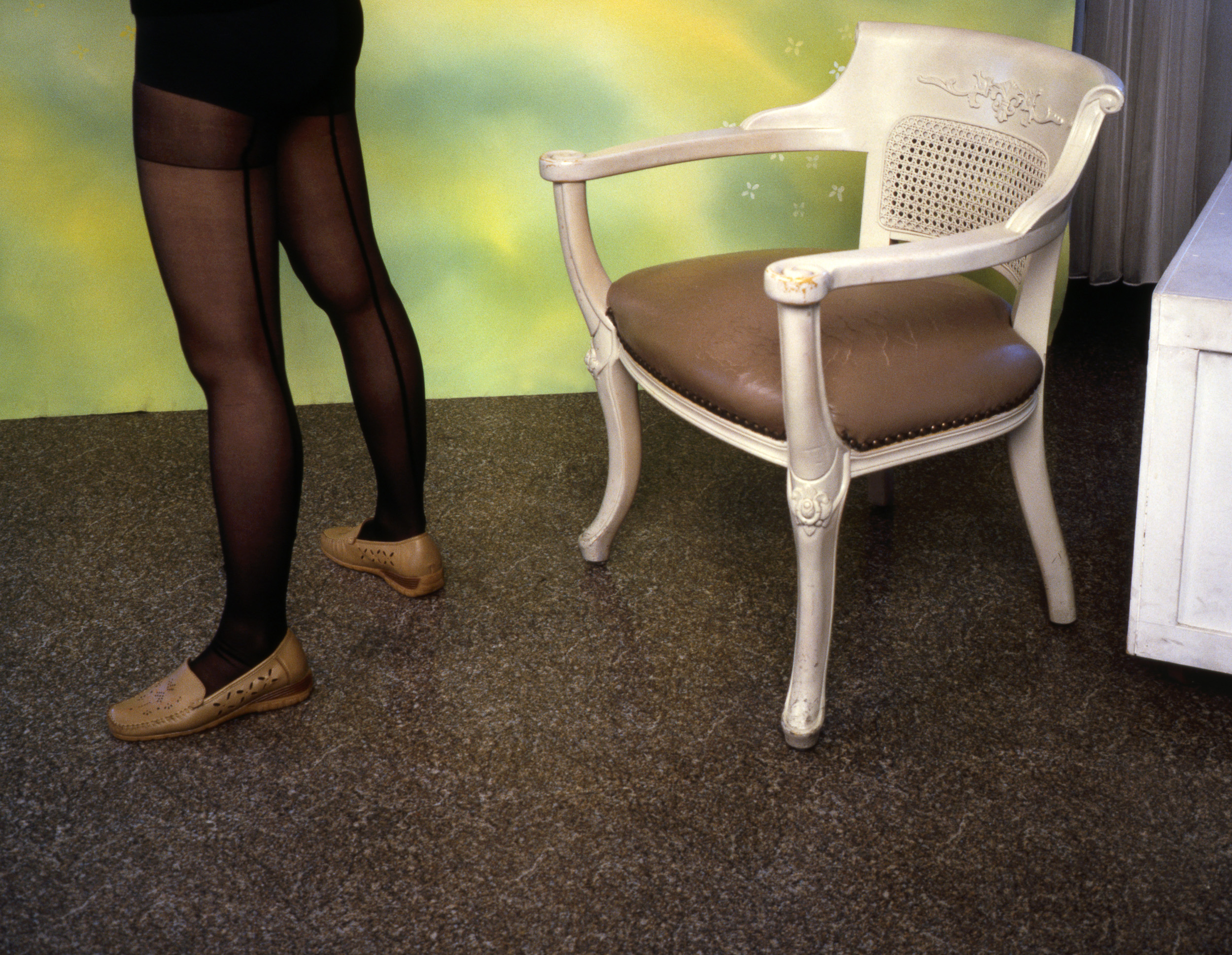 Untitled Production Still (Girlfriend's Legs)  2005, colour photograph, 58 x 76 cm / 23 x 30 in.