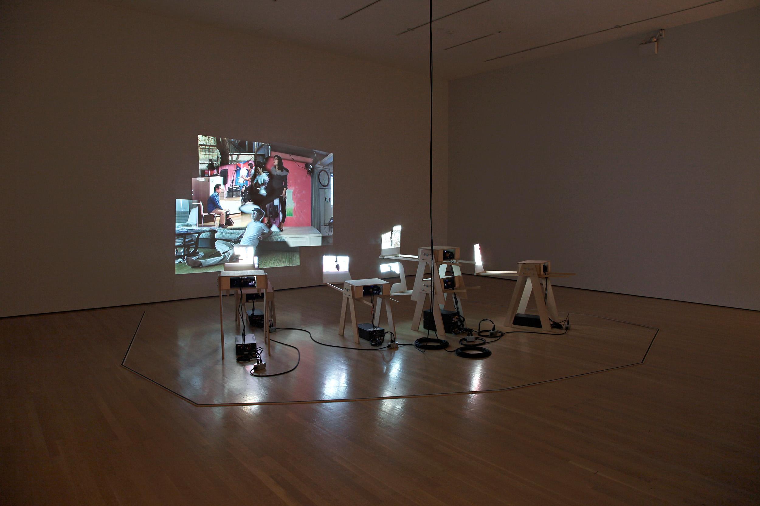 Cuba Still (Remake) , installed at the Musée d'art contemporain de Montréal, 2009