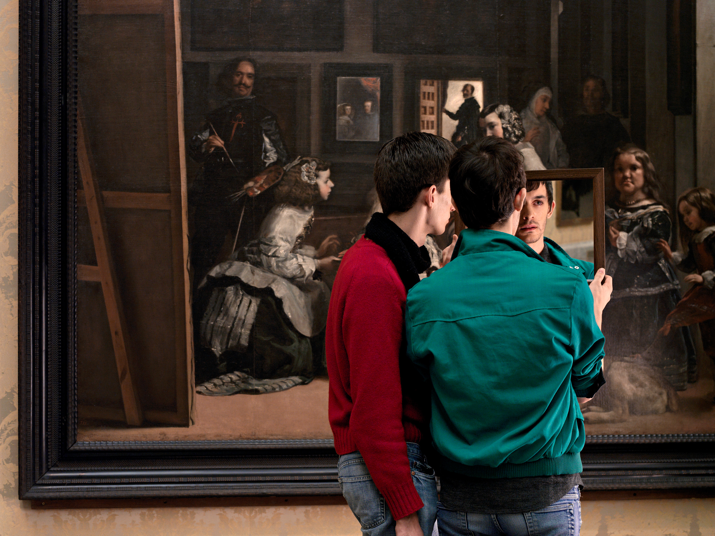 A Moment of Reflection  2008, colour photograph 102 x 136 cm / 40 x 53.5 in. Edition of 7 Produced with the cooperation of the Museo Nacional del Prado