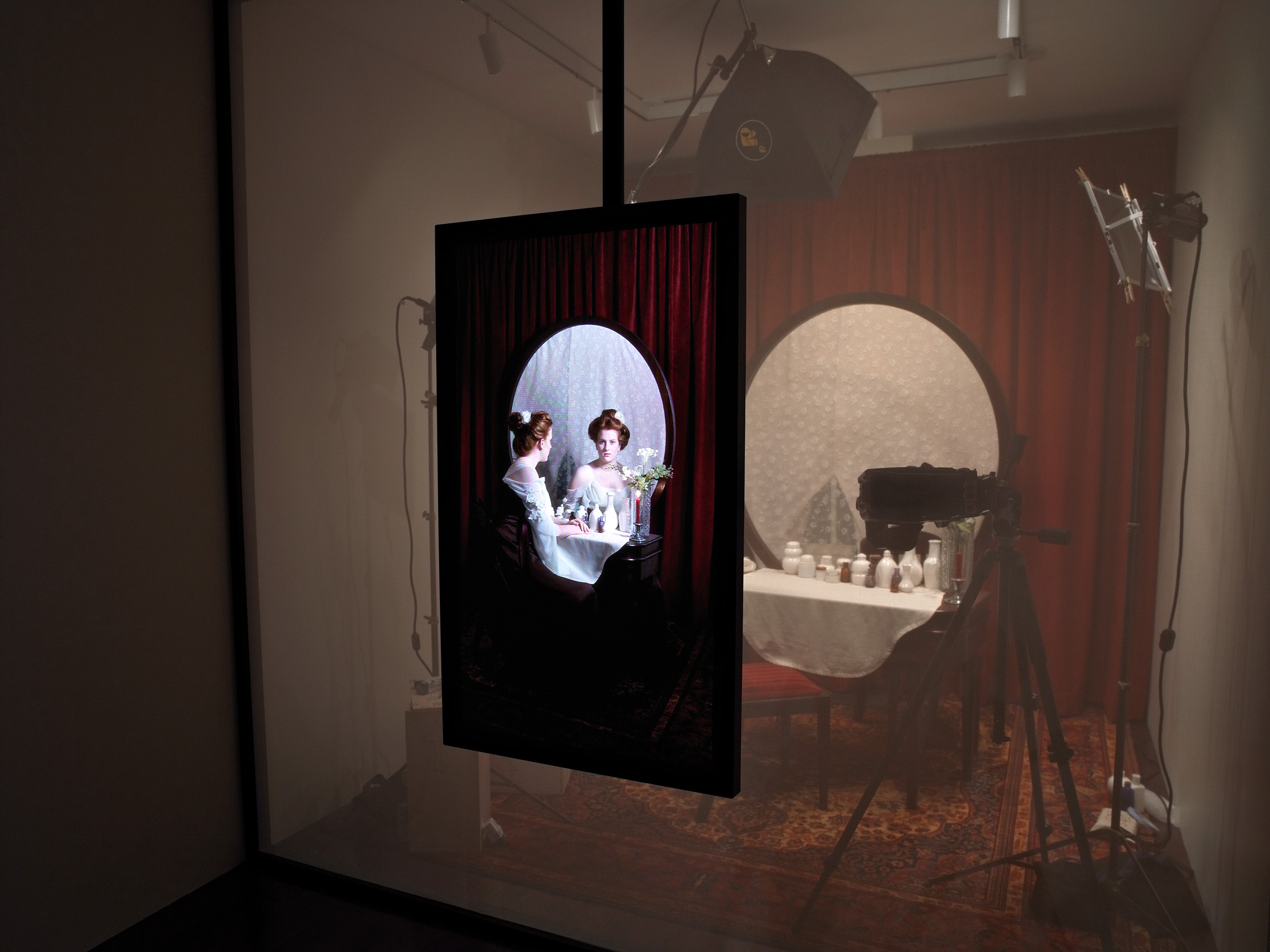 Installation view at BMO project Room, 2009