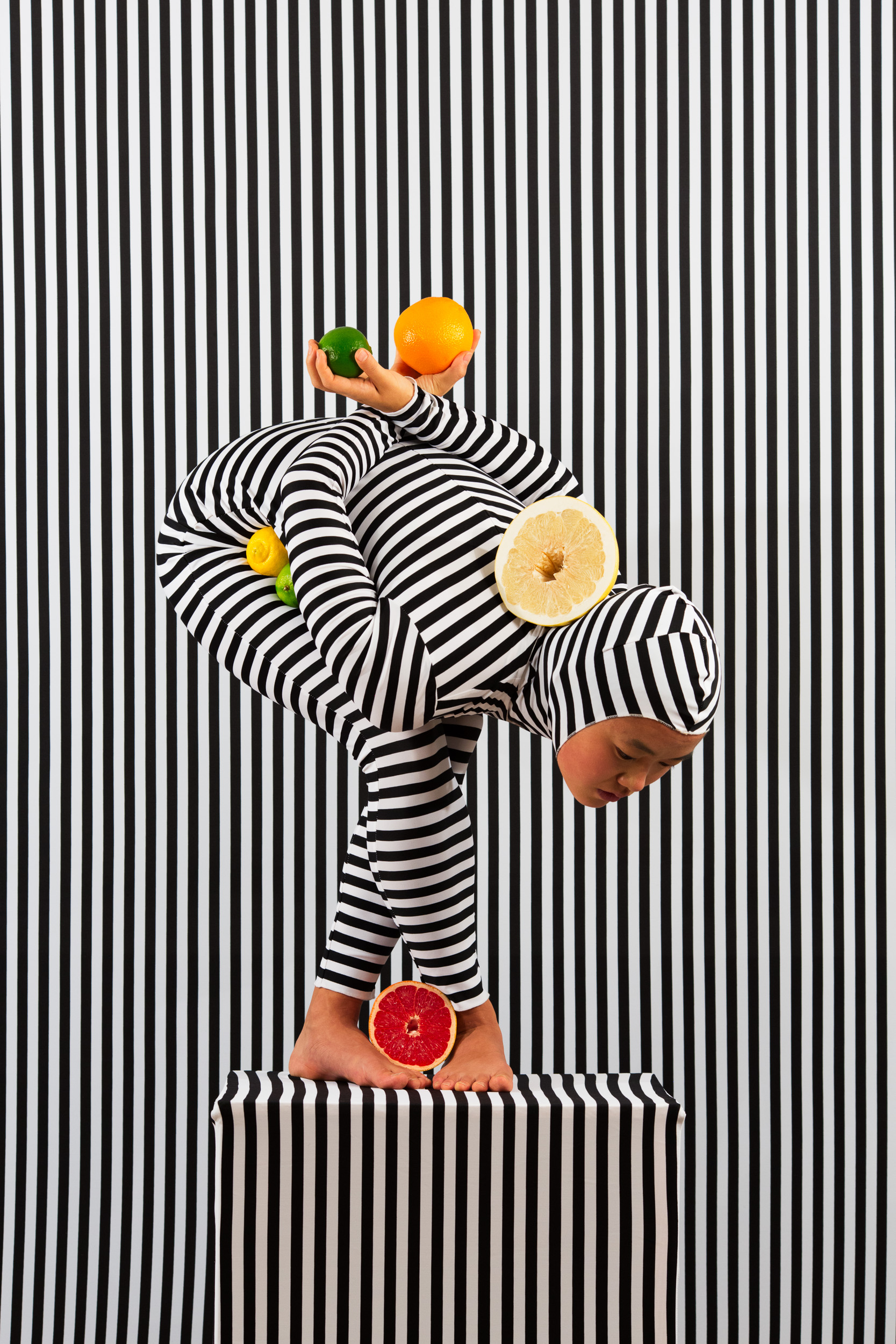 An Arrangement (Stripes Case Study 5)  2018, archival pigment print 91.5 x 61 cm / 36 x 24 in. Edition of 3