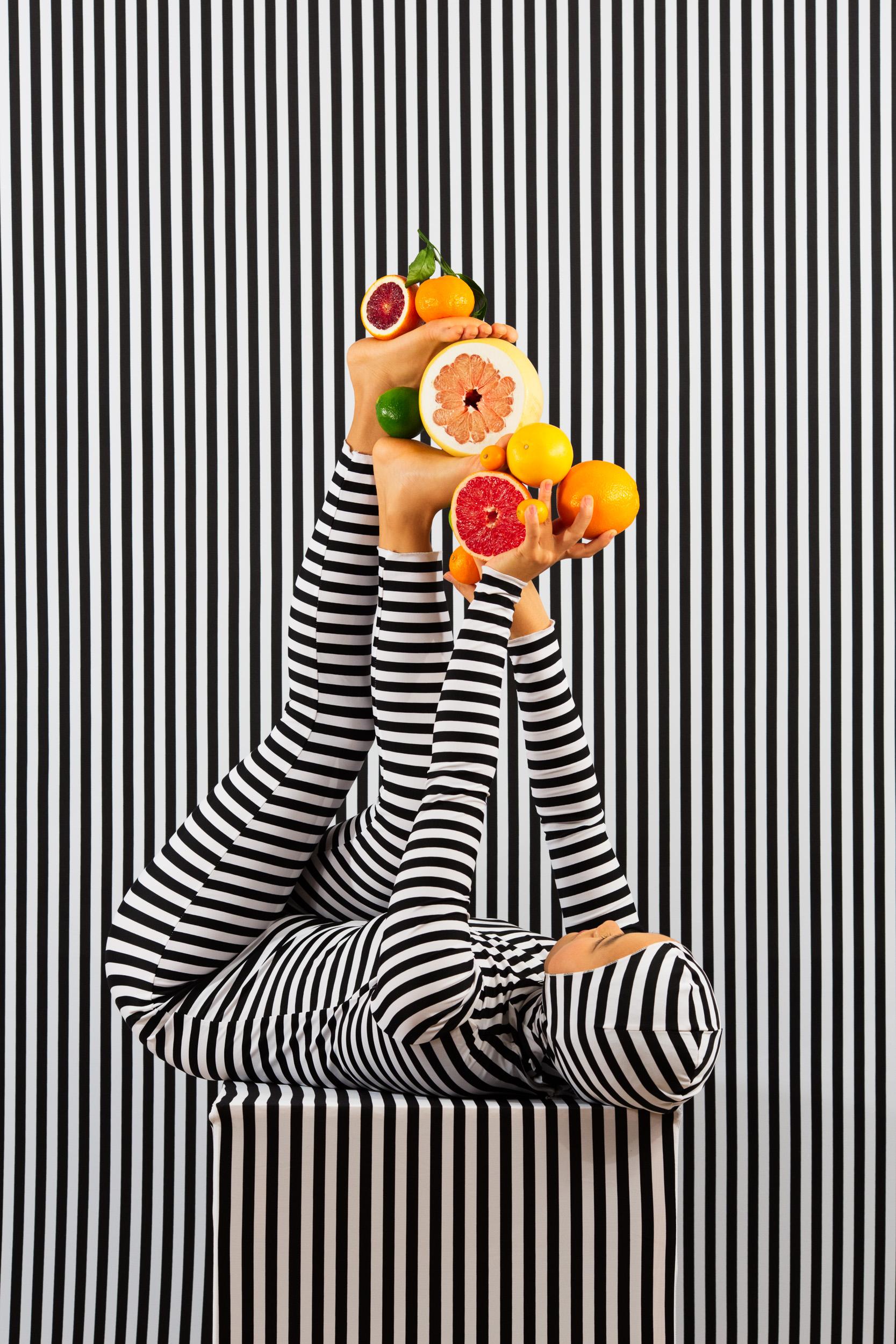 An Arrangement (Stripes Case Study 6)   2018, archival pigment print 91.5 x 61 cm / 36 x 24 in. Edition of 3