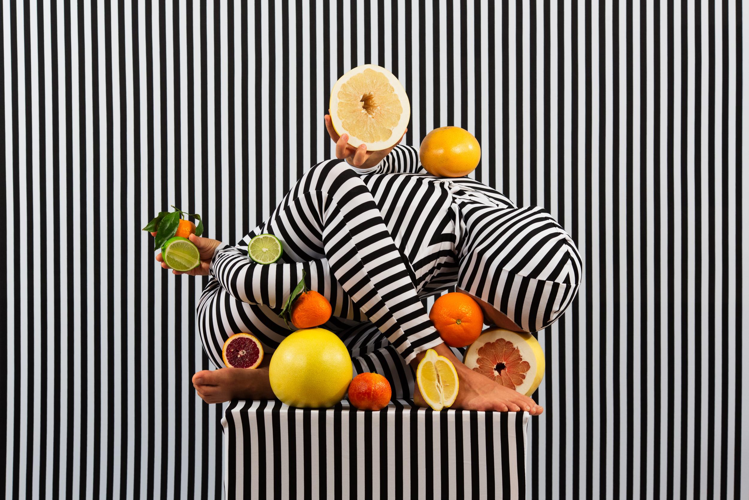 An Arrangement (Stripes Case Study 1)  2018, archival pigment print 61 x 91.5 cm / 24 x 36 in. Edition of 3