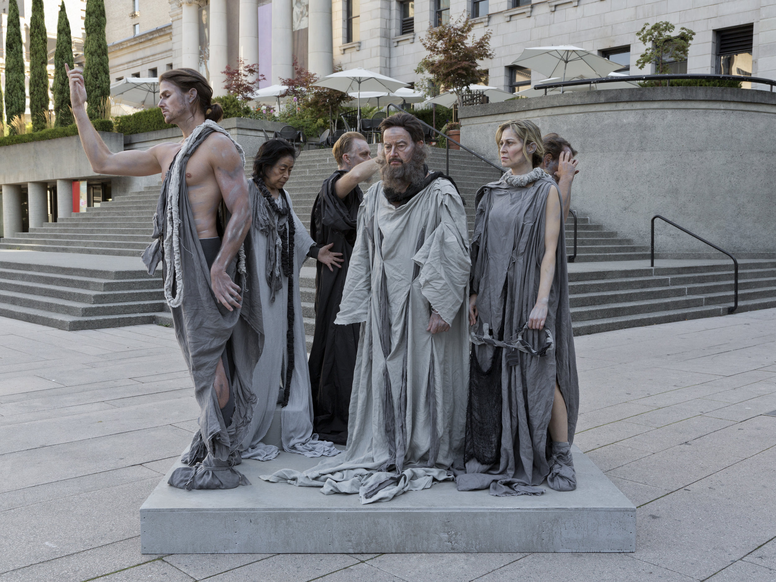 The Burghers of Vancouver 2015, archival pigment print 76  x 102 cm / 30 x 40 in. Edition of 5