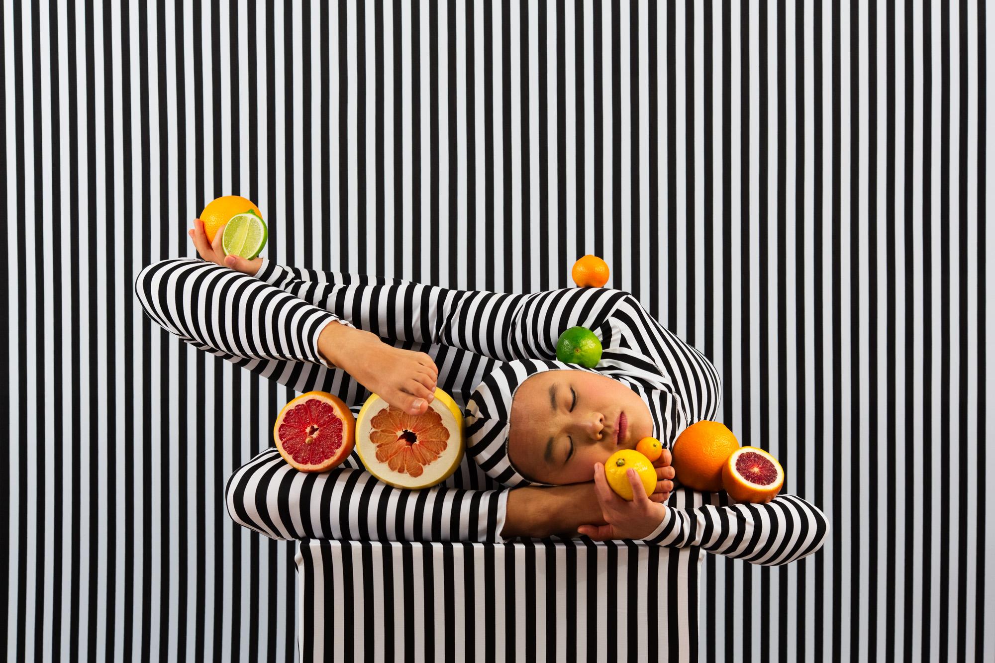 Adad Hannah,  New Arrangements (Stripes Case Study) 3 , 2018