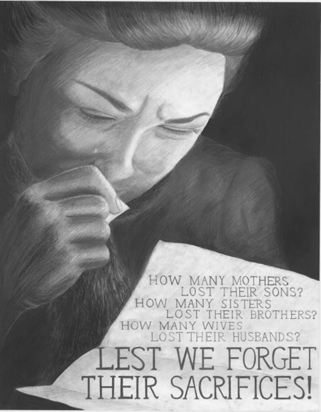 Lest We Forget their Sacrifices by Jiade Guo, A1011 RU.jpg