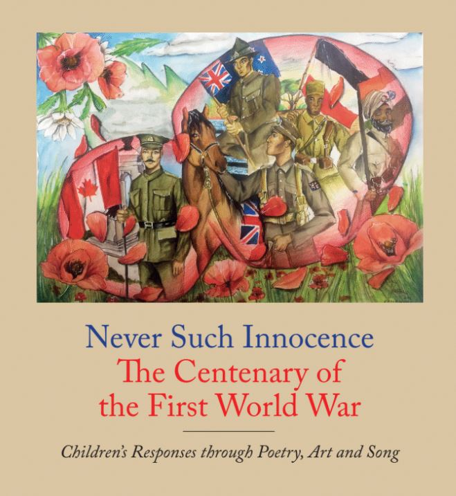 The Never Such Innocence Anthology, featuring winning work from all four years of the Centenary Competition, is available for purchase on amazon