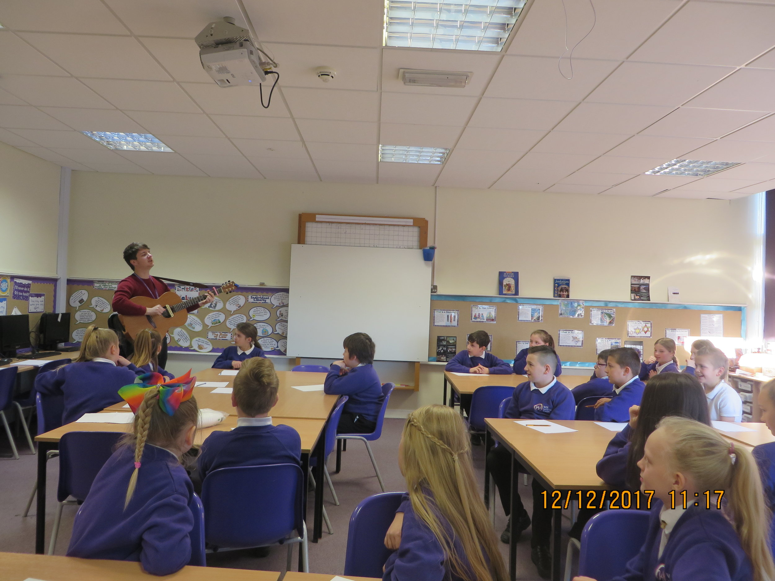 Hasting Hill's songwriting workshop