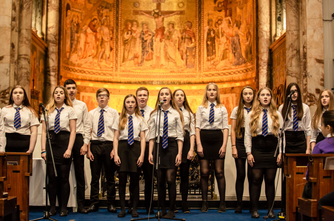 Lossiemouth High School Sang The Sky's The Limit at the 2017/18 Awards Ceremony