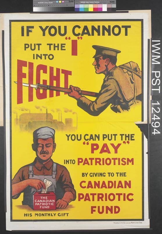 © IWM Art pst 12494 propaganda poster.
