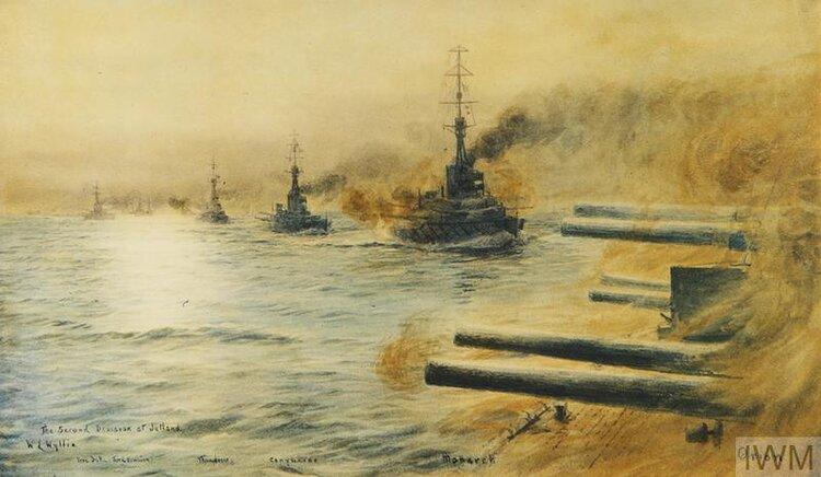 © IWM Art REPRO 000323 the second division at jutland