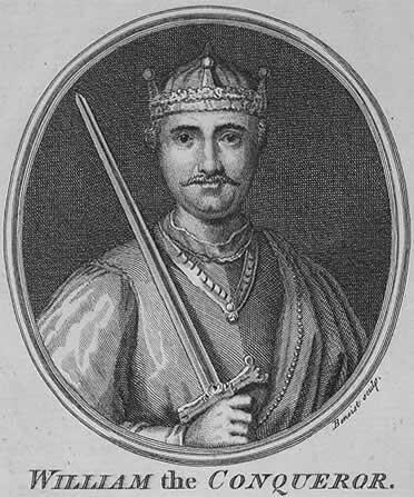 William the conqueror, king of england 1066-1087