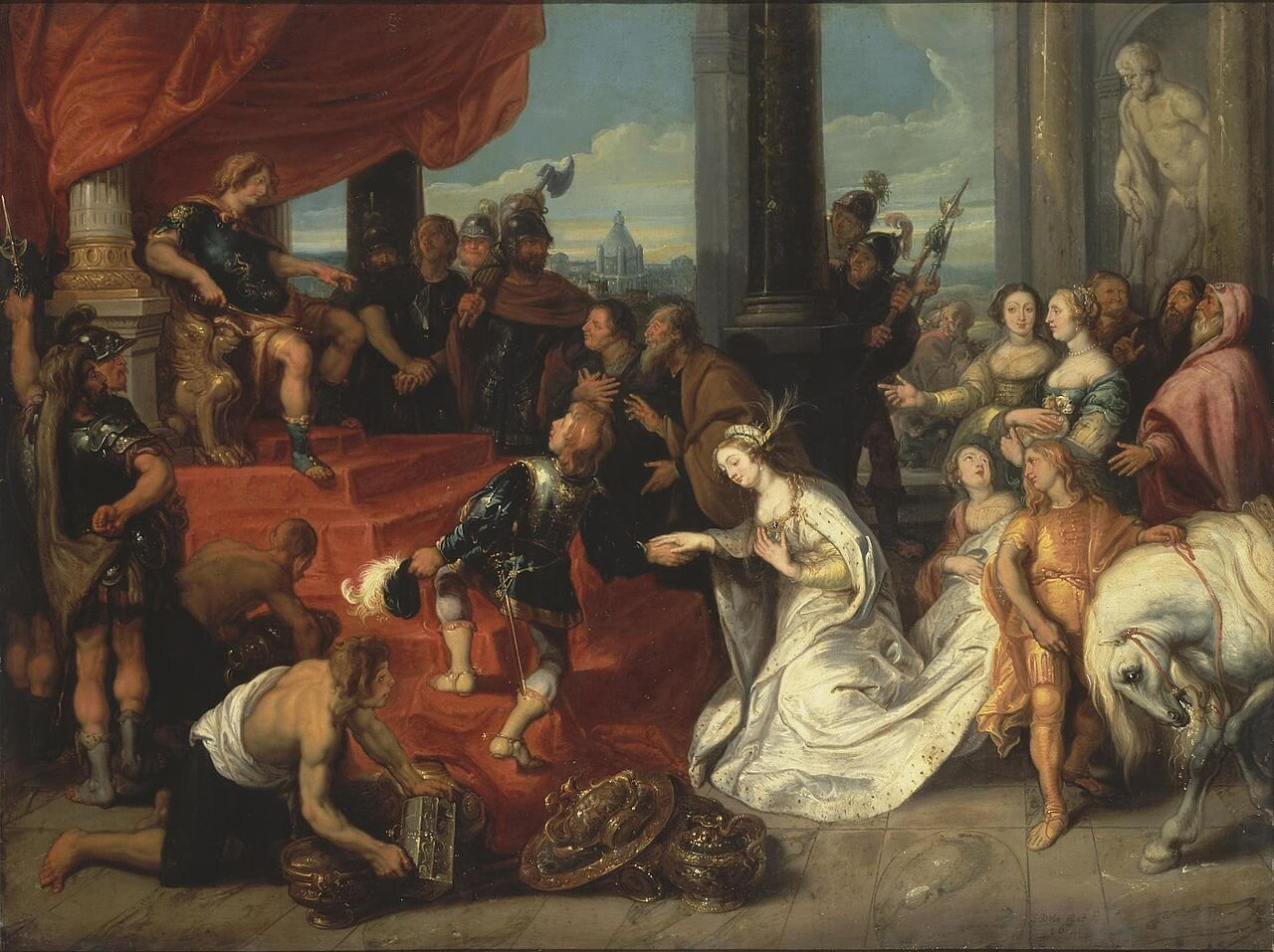 the continence of scipio  ©simon de vos