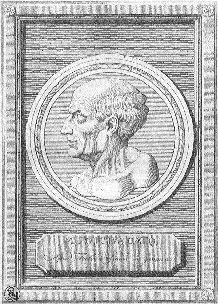 roman censor Marcus Porcius Cato  © Dr manuel