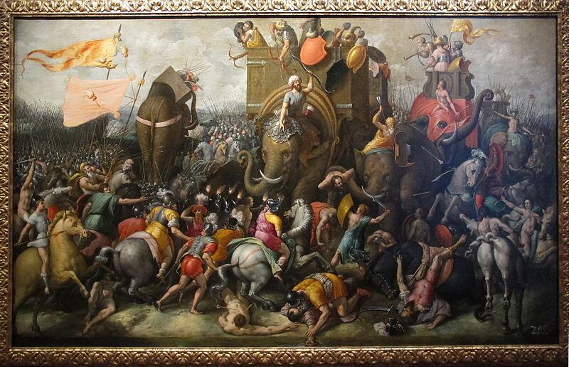 battle of zama   ©  Sailko