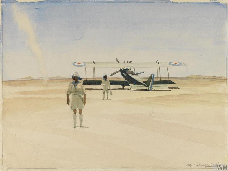 The War in the Middle East - ©IWM ART 2680