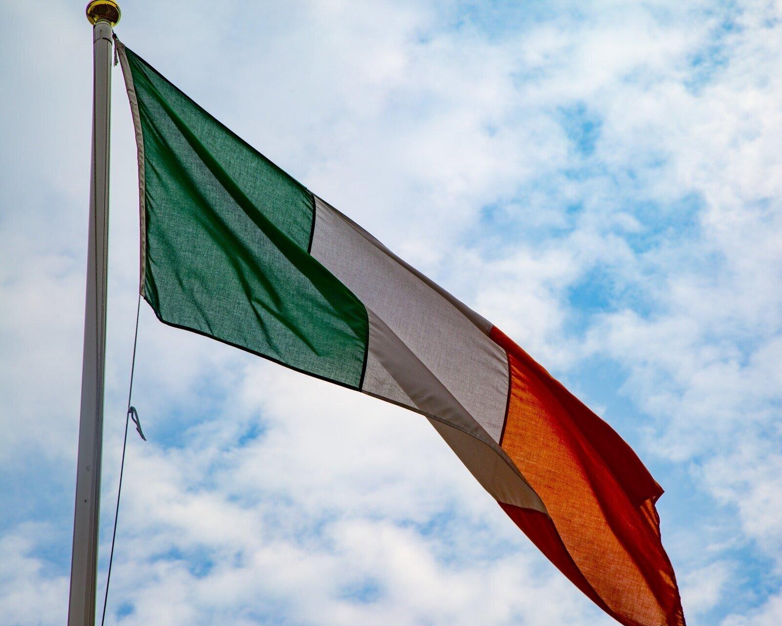 National Flag - The Irish Tricolour Flag