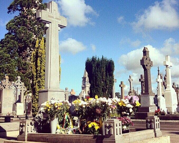Glasnevin Cemetery - Michael Collins' grave at Glasnevin Cemetry