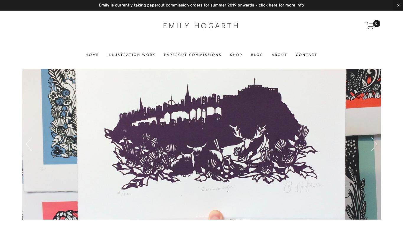 EMILY HOGARTH I Diseñador Desconocido