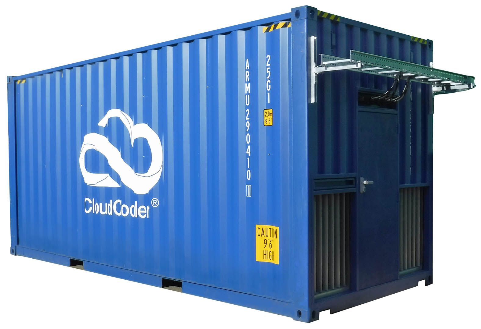 HPC Data Container CloudCooler for Edge computing and HPC portable data centre micro data centre shipping container