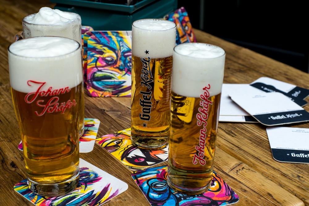 Biere Brauhaus Johann Schäfer Köln Getränke