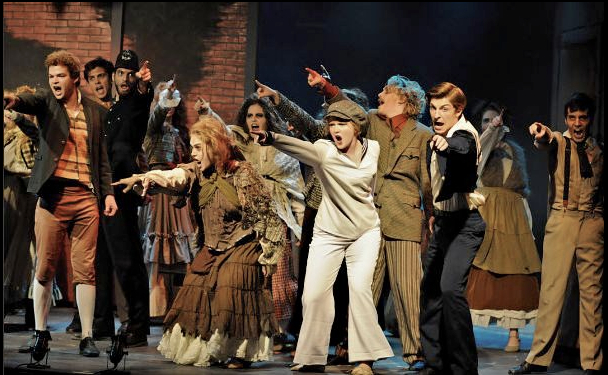 Johanna in Sweeney Todd at the College Light Opera Company (2011). Photo by Brenda Sharp.